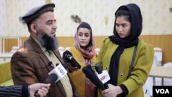 Afg'onistonda jurnalist ayollar