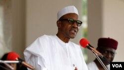 ປະທານາທິບໍດີໄນຈີເຣຍ ທ່ານ Muhammadu Buhari.
