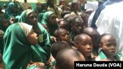 Wasu marayu 'yan makaranta a cihar Borno
