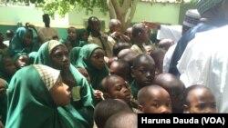 Wasu dalibai a jihar Borno