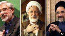 یورش بر منزل رهبر حزب مخالف در ایران