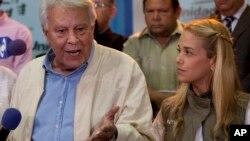 El expresidente español, Felipe González, dijo que respetará la decisión de la Corte Suprema de Venezuela, aunque ésta falle en su contra.