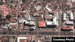 FILE - Kefyalew Tefera initially was held at Maekelawi, the main federal police and detention center in Addis Ababa, Ethiopia. Rights groups had denounced detainees' treatment there. The center was closed in April. (©DigitalGlobe 2013 / Source: Google Earth)