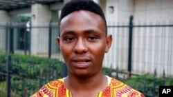 Студент университета Кении комментирует высказывание президента Дональда Трампа