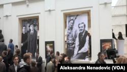 Spomenik Karlu Maldenu otkriven je u Jugoslovenskoj kinoteci u Beogradu, Foto: Glas Amerike