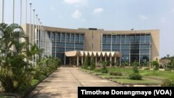L'assemblée nationale à Libreville au Gabon, le janvier 2017. (VOA/Timothee Donangmaye)