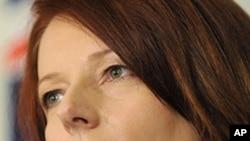 Australia's prime minister Julia Gillard (file photo)