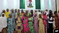 'Yan makaranta mata da suka kubuta daga makarantar sakadaren gwamnati ta Chibok.