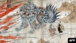 Один из экспонатов японской выставки