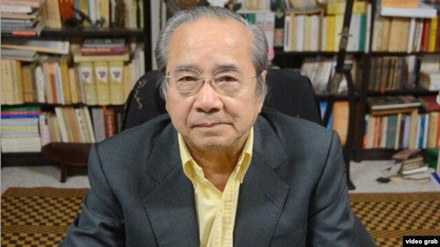 Ông Võ Văn Ái, Chủ tịch Uỷ ban Bảo vệ Quyền Làm Người Việt Nam.