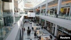 2015年2月22日,纽约加登市罗斯福菲尔德购物中心的情形。