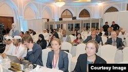 Wajumbe kwenye mkutano wa Elimu kwa Wote , Muscat Oman
