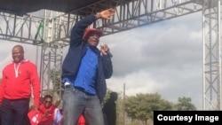 Ilunga le MDC Alliance emhlanganweni weGweru, uMnu. Tafadzwa Musekiwa