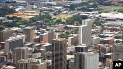 Cityscape of Pretoria, the capital of South Africa in 2010. The capital is set to be renamed at the end 2010. (file photo)