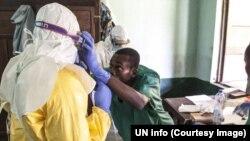 Trabalhadores de saúde, RDC, 17 de maio, 2018 (Twitter/ONU Info)