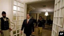 وزیراعظم یوسف رضا گیلانی
