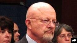 제임스 클래퍼 미 국가정보국 국장 (자료사진)