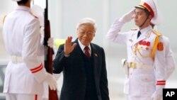 Ông Nguyễn Phú Trọng, 72 tuổi, thuộc phe thân Bắc Kinh, đã giành được chức vụ lãnh đạo một lần nữa sau khi đánh bại Thủ tướng Nguyễn Tấn Dũng.