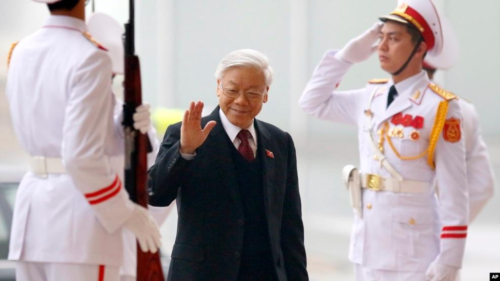 Tổng Bí thư Việt Nam Nguyễn Phú Trọng.