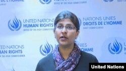 Ravina Shamsadani, juru bicara HAM untuk PBB (Photo: UN Multimedia)