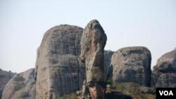 Angola Malanje Pedras Negras do Pungo Andongo