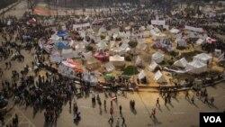 Площадь Тахрир. Каир. 27 ноября 2012 г.
