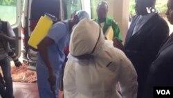 Kuhlolwa Indawo Zokwelapha Abalomkhuhlane Onjenge Coronavirus