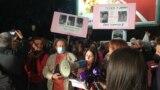 Protest pred sedištem Vlade Crne Gore