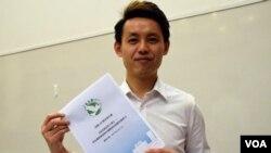 香港民主黨副主席羅健熙。(美國之音湯惠芸)