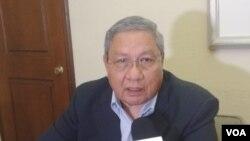 Ex gerente regional del BCIE, Roger Arteaga. Photo: Daliana Ocaña - VOA.