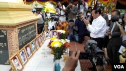 CNRP Vice President Kem Sokha commemorated the 28th anniversary of Cambodia's grenade attack.