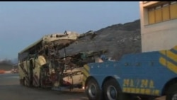 2012-03-14 美國之音視頻新聞: 瑞士巴士車禍28名比利時遊客死亡