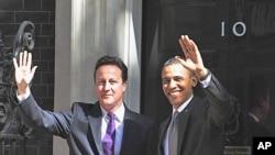 奧巴馬卡梅倫表示卡扎菲必須下台