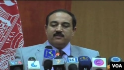 Bộ trưởng Nội vụ Afghanistan Mujtaba Patang.