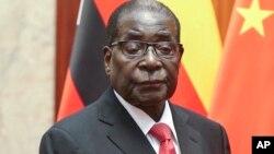 Shugaban Kasar Zambabwe Robert Mugabe