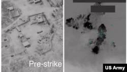 تصاویر حمله پدافندی آمریکا