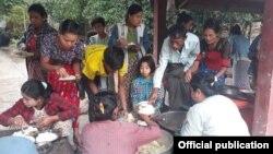 ရခိုင္ဒုကၡသည္မ်ား (သတင္းဓါတ္ပံု - Rakhine Ethnics Congress)