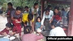 ရခိုင္စစ္ေဘးေရွာင္ဒုကၡသည္မ်ား။ (ဓာတ္ပံု - Rakhine Ethnics Congress)