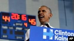 APTOPIX Campaign 2016 Obama
