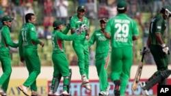 بنگلہ دیش کی کرکٹ ٹیم (فائل فوٹو)