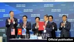 Tập đoàn AES và Tổng Công ty Khí Việt Nam (Petro Vietnam GAS) ký thỏa thuận về dự án kho cảng LNG trị giá 2,8 tỉ USD