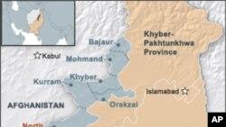 민병대 시신이 발견된 북와지리스탄 지역