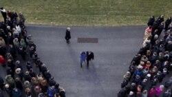 شرکت پرزیدنت اوباما در مراسم یادبود قربانیان آریزونا