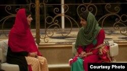 ملالہ یوسفزئی اور ان کی سہیلی شازیہ رمضان