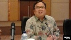 Menteri Keuangan, Bambang Brodjonegoro.