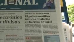 Se agudiza crisis de papel periódico en Venezuela