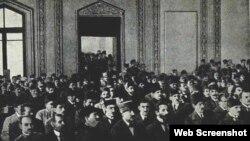 Azərbaycan Xalq Cümhuriyyətinin ilk parlamenti, 7 dekabr 1918-ci il