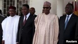 Shugabannin ECOWAS a Taronsu a Abuja, Satumba 22, 2015.