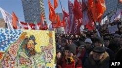 تظاهرات اعتراضی علیه پوتین