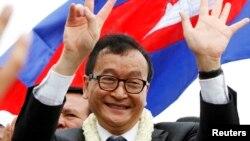 Ông Sam Rainsy, Chủ tịch Đảng Cứu quốc